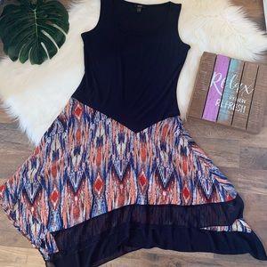 MSK Asymmetrical Dress
